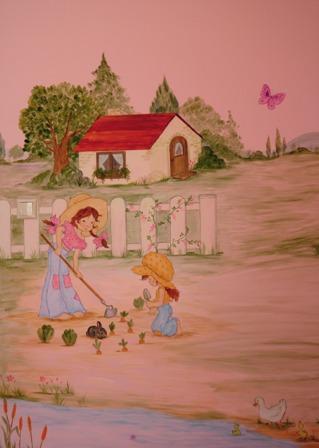 Ζωγραφικη σε τοιχο παιδικου δωματιου παιδικες τοιχογραφιες τεχνοτροπιες