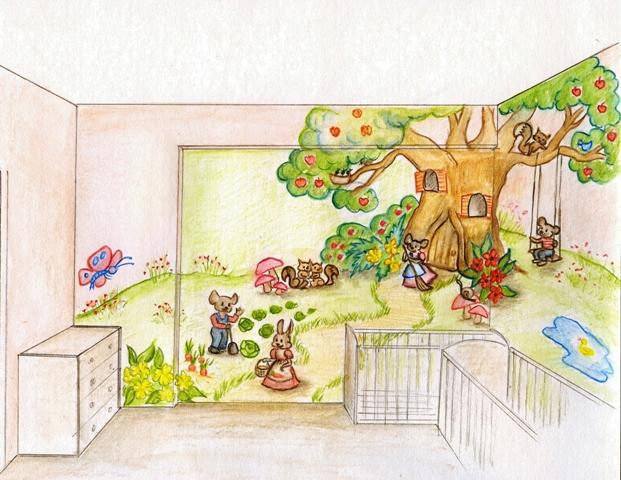ζωάκια στο λαχανόκηπο