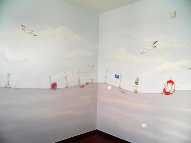 200 ( βάψιμο όλο το δωμάτιο και ζωγραφική)