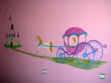 Ζωγραφικη σε τοιχο παιδικου δωματιου παιδικες τοιχογραφιες τεχνοτροπιες αμαξα