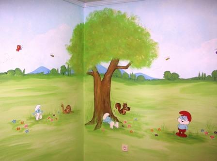 Ζωγραφικη παιδικου δωματιου παιδικες τοιχογραφιες τεχνοτροπιες ζωγραφικη τοιχου