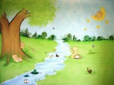 Ζωγραφικη παιδικου δωματιου παιδικες τοιχογραφιες τεχνοτροπιες