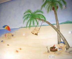 Ζωγραφικη παιδικων δωματιων παιδικες τοιχογραφιες