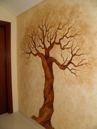 ζωγραφική σε τοίχο τοιχογραφια τεχνοτροπία