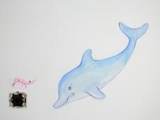 Ζωγραφικη σε τοιχο παιδικου δωματιου παιδικες τοιχογραφιες τεχνοτροπιες βυθος
