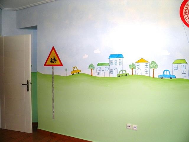 250 € (όλο το δωμάτιο και ταβάνι)