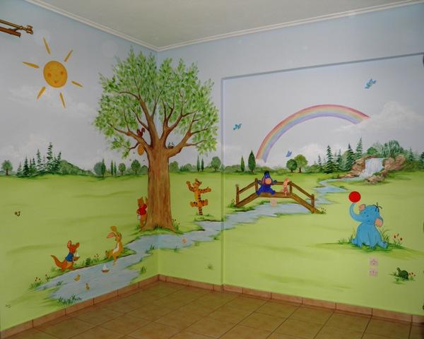 Γουΐνυ παιδική τοιχογραφία