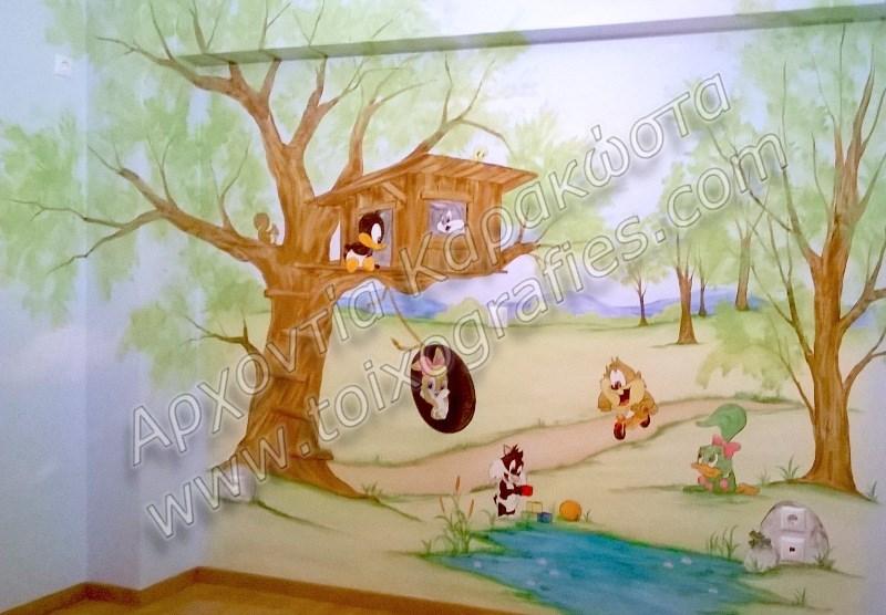 ζωγραφική σε τοίχο βρεφικών παιδικών δωματίων, παιδικές τοιχογραφίες, ζωγραφική σε τοίχο, διακόσμηση παιδικού βρεφικού δωματίου