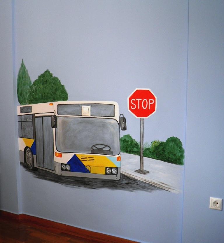 ζωγραφικη παιδικών δωματίων, παιδικές τοιχογραφίες, ζωγραφική σε τοίχο