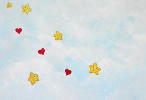 ζωγραφική τοίχου παιδικού δωματίου παιδικές τοιχογραφίες ουρανος