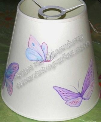 Παιδικό φωτιστικό πεταλούδες