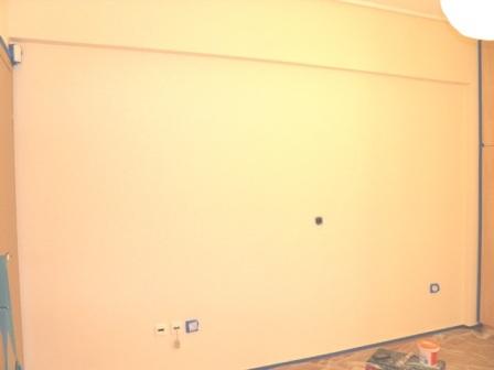 Χαϊντι ζωγραφικη παιδικου δωματιου - πριν