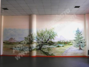 ζωγραφική σε εξωτερικό τοίχο σχολείου, ζωγραφική παιδικών δωματίων, παιδικές τοιχογραφίες, ζωγραφική σε τοίχο
