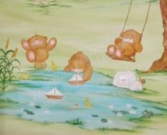 αρκουδακια forever friends παιδικη τοιχογραφια (4)