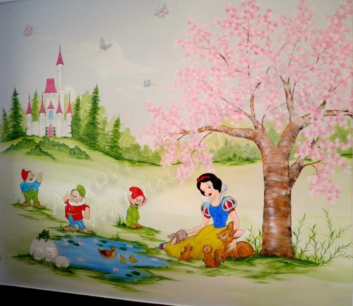 ζωγραφική παιδικών δωματίων, παιδικές τοιχογραφίες, ζωγραφική τοίχου, παιδικά δωμάτια