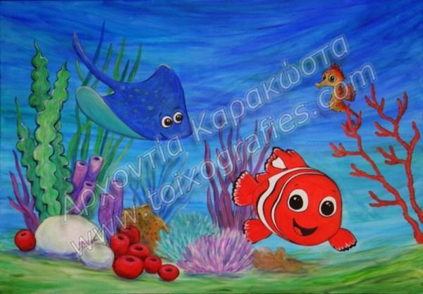 Πίνακες ζωγραφικής για παιδιά, ζωγραφική παιδικών βρεφικών δωματίων, παιδικές τοιχογραφίες