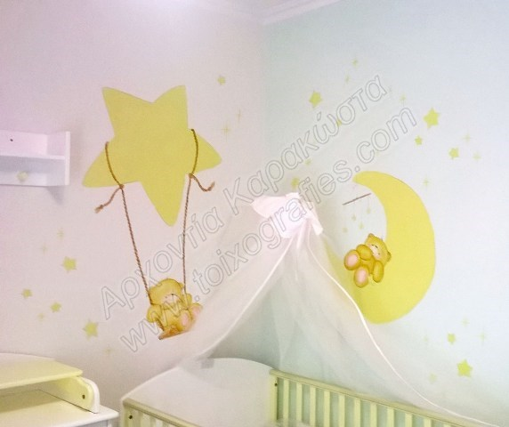 ζωγραφικη παιδικων δωματιων, παιδικές τοιχογραφίες, ζωγραφική σε τοίχο, διακόσμηση παιδικού δωματίου
