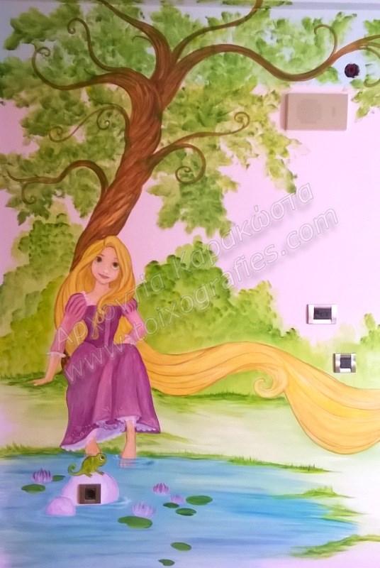 ζωγραφικη παιδικού δωματίου, τοιχογραφίες, τεχνοτροπίες